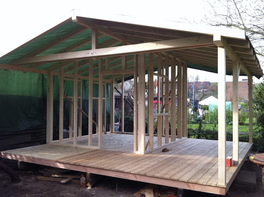 Holzrahmenbau durch die Zimmerei Pitzer