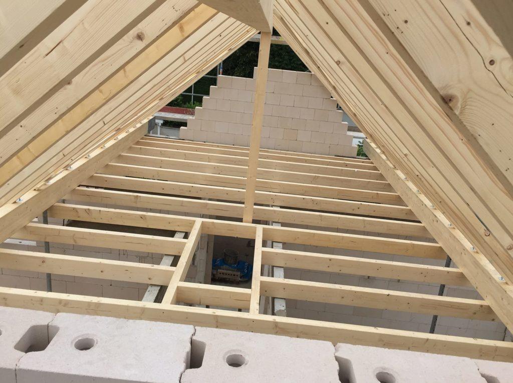Dachstuhl von Zimmerei Pitzer
