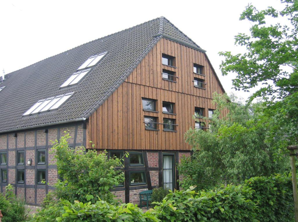 Fassade von Zimmerei Pitzer