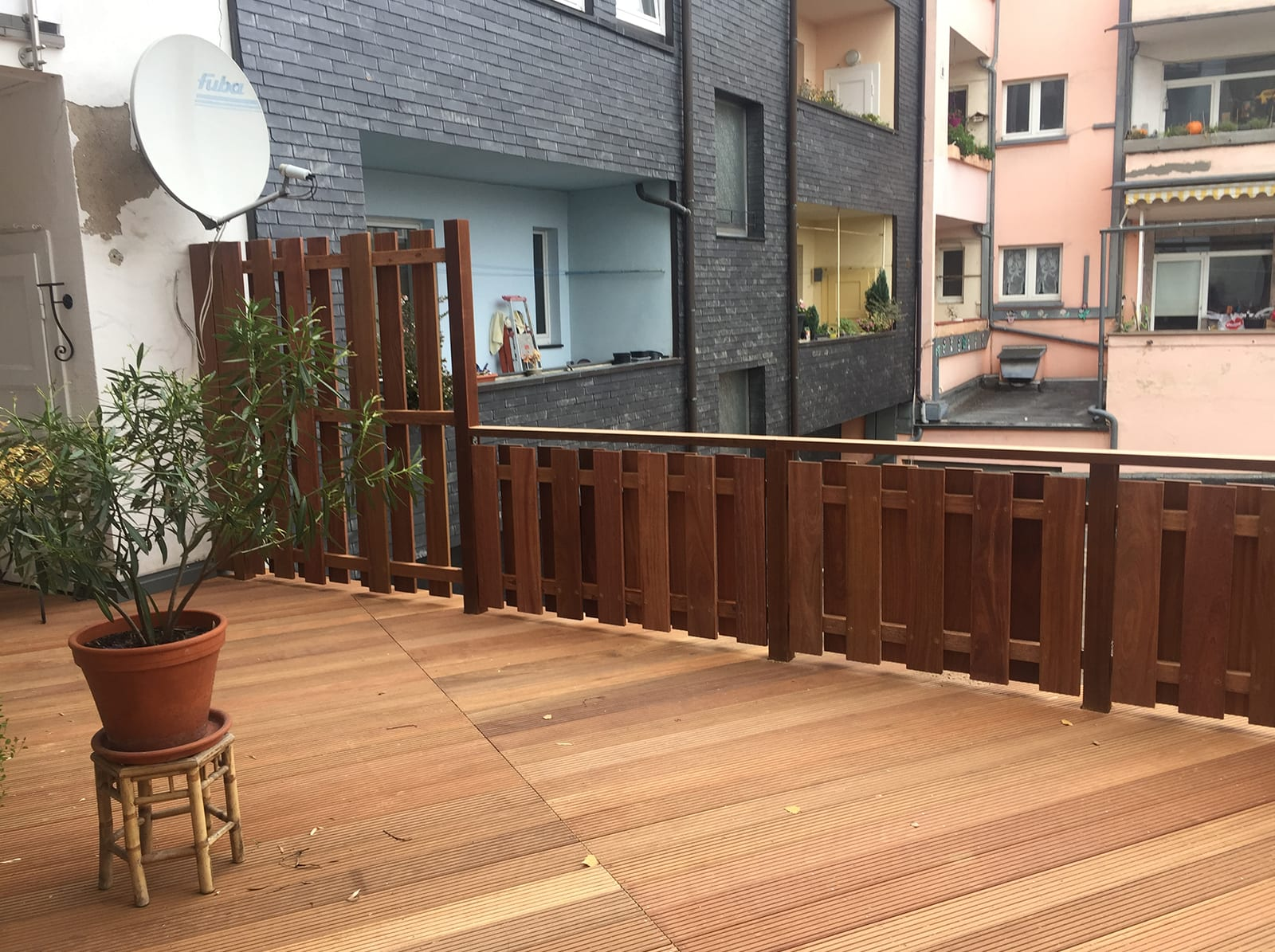 Terrasse von Zimmerei Pitzer